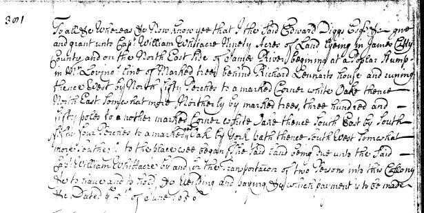 My ancestorwas Richard's brother, Capt. William Whitaker, a merchant