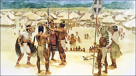 Green Family in Arkansas and the Cherokee Indians